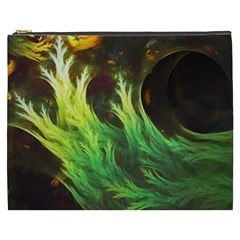 A Seaweed s Deepdream Of Faded Fractal Fall Colors Cosmetic Bag (xxxl)  by beautifulfractals