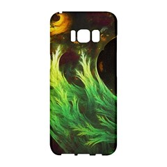A Seaweed s Deepdream Of Faded Fractal Fall Colors Samsung Galaxy S8 Hardshell Case  by beautifulfractals