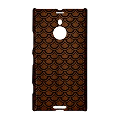 Scales2 Black Marble & Brown Wood (r) Nokia Lumia 1520 Hardshell Case by trendistuff