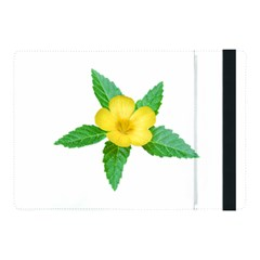 Yellow Flower With Leaves Photo Apple Ipad Pro 10 5   Flip Case by dflcprints