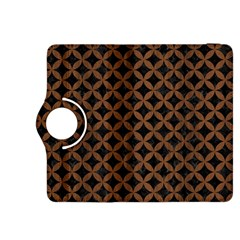 Circles3 Black Marble & Brown Wood Kindle Fire Hdx 8 9  Flip 360 Case by trendistuff