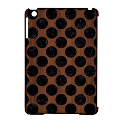 Circles2 Black Marble & Brown Wood (r) Apple Ipad Mini Hardshell Case (compatible With Smart Cover) by trendistuff