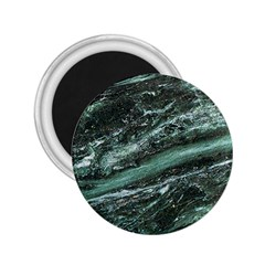 Green Marble Stone Texture Emerald  2 25  Magnets by paulaoliveiradesign