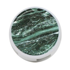 Green Marble Stone Texture Emerald  4 Port Usb Hub (one Side) by paulaoliveiradesign