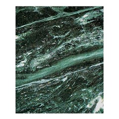 Green Marble Stone Texture Emerald  Shower Curtain 60  X 72  (medium)  by paulaoliveiradesign