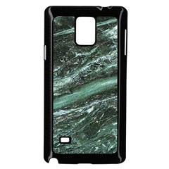 Green Marble Stone Texture Emerald  Samsung Galaxy Note 4 Case (black) by paulaoliveiradesign