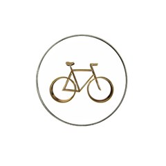 Elegant Gold Look Bicycle Cycling  Hat Clip Ball Marker (10 Pack) by yoursparklingshop