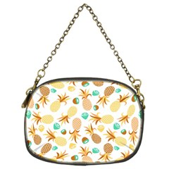 Seamless Summer Fruits Pattern Chain Purses (two Sides)  by TastefulDesigns