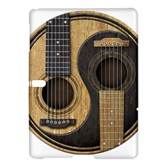 Old And Worn Acoustic Guitars Yin Yang Samsung Galaxy Tab S (10 5 ) Hardshell Case  by JeffBartels