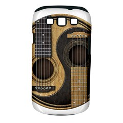 Old And Worn Acoustic Guitars Yin Yang Samsung Galaxy S Iii Classic Hardshell Case (pc+silicone) by JeffBartels