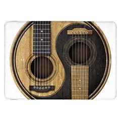 Old And Worn Acoustic Guitars Yin Yang Samsung Galaxy Tab 8 9  P7300 Flip Case by JeffBartels