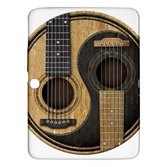 Old And Worn Acoustic Guitars Yin Yang Samsung Galaxy Tab 3 (10 1 ) P5200 Hardshell Case  by JeffBartels