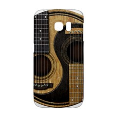 Old And Worn Acoustic Guitars Yin Yang Galaxy S6 Edge by JeffBartels