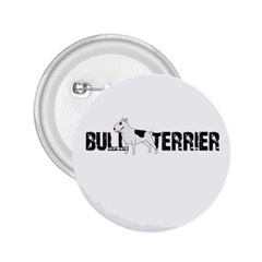 Bull Terrier  2 25  Buttons by Valentinaart