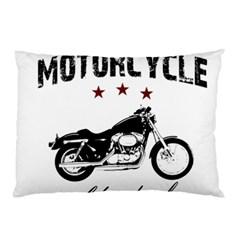 Motorcycle Old School Pillow Case by Valentinaart