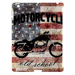 Motorcycle Old School Apple Ipad 3/4 Hardshell Case (compatible With Smart Cover) by Valentinaart