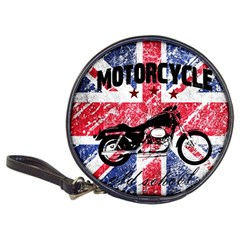 Motorcycle Old School Classic 20 Cd Wallets by Valentinaart