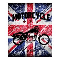 Motorcycle Old School Shower Curtain 60  X 72  (medium)  by Valentinaart