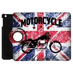 Motorcycle Old School Apple Ipad Mini Flip 360 Case by Valentinaart