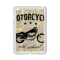 Motorcycle Old School Ipad Mini 2 Enamel Coated Cases by Valentinaart