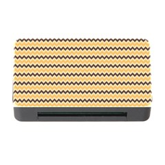 Colored Zig Zag Memory Card Reader With Cf by Colorfulart23