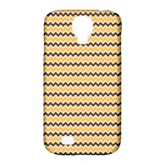 Colored Zig Zag Samsung Galaxy S4 Classic Hardshell Case (pc+silicone) by Colorfulart23