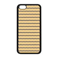 Colored Zig Zag Apple Iphone 5c Seamless Case (black) by Colorfulart23