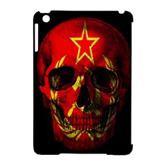 Russian Flag Skull Apple Ipad Mini Hardshell Case (compatible With Smart Cover) by Valentinaart