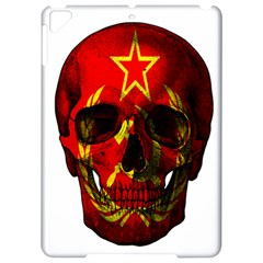 Russian Flag Skull Apple Ipad Pro 9 7   Hardshell Case