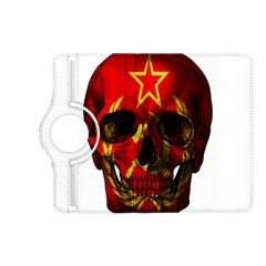 Russian Flag Skull Kindle Fire Hd (2013) Flip 360 Case by Valentinaart