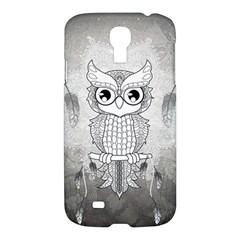 Wonderful Owl, Mandala Design Samsung Galaxy S4 I9500/i9505 Hardshell Case by FantasyWorld7