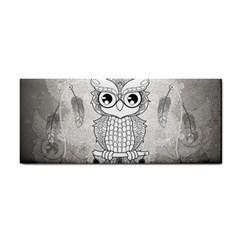 Wonderful Owl, Mandala Design Cosmetic Storage Cases by FantasyWorld7