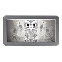 Wonderful Owl, Mandala Design Memory Card Reader (mini) by FantasyWorld7
