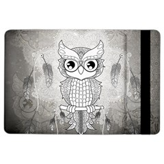 Wonderful Owl, Mandala Design Ipad Air 2 Flip by FantasyWorld7