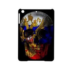 Russian Flag Skull Ipad Mini 2 Hardshell Cases by Valentinaart