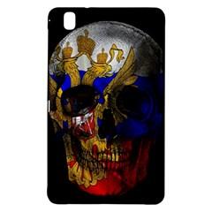 Russian Flag Skull Samsung Galaxy Tab Pro 8 4 Hardshell Case by Valentinaart