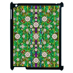 Pearl Flowers In The Glowing Forest Apple Ipad 2 Case (black) by pepitasart