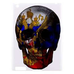 Russian Flag Skull Apple Ipad 3/4 Hardshell Case by Valentinaart