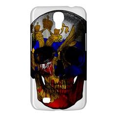 Russian Flag Skull Samsung Galaxy Mega 6 3  I9200 Hardshell Case by Valentinaart