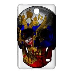 Russian Flag Skull Samsung Galaxy Tab 4 (8 ) Hardshell Case  by Valentinaart