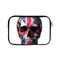 Uk Flag Skull Apple Macbook Pro 15  Zipper Case by Valentinaart