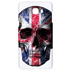 Uk Flag Skull Samsung C9 Pro Hardshell Case  by Valentinaart