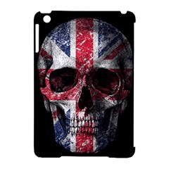 Uk Flag Skull Apple Ipad Mini Hardshell Case (compatible With Smart Cover) by Valentinaart
