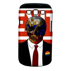 Dualism Samsung Galaxy S Iii Classic Hardshell Case (pc+silicone) by Valentinaart