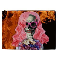 Bride From Hell Cosmetic Bag (xxl)  by Valentinaart