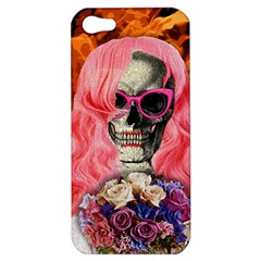 Bride From Hell Apple Iphone 5 Hardshell Case by Valentinaart