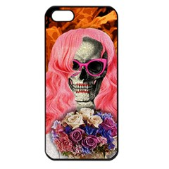 Bride From Hell Apple Iphone 5 Seamless Case (black) by Valentinaart