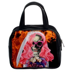 Bride From Hell Classic Handbags (2 Sides) by Valentinaart
