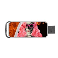 Bride From Hell Portable Usb Flash (two Sides) by Valentinaart