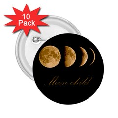Moon Child 2 25  Buttons (10 Pack)  by Valentinaart